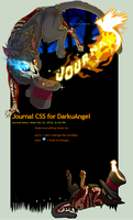 Journal CSS for DarkuAngel by VengefulSpirits