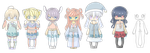 NYP Collab Adopts [OPEN] by zunishi-adopts