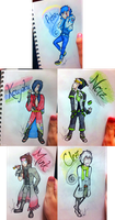 Dramatical Sketches by xXsamluvsgreendayXx