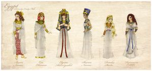 Costume Project - Egypt by Persephine