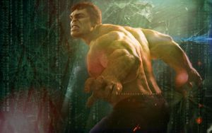 The Hulk by bubblenubbins