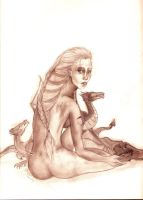 Mother of Dragons by inucheychan