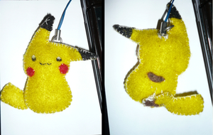 Pikachu Key Chain by mangelamailman