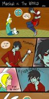 Marshall Lee vs. The World by jojodog