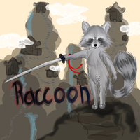 Raccoon by Leyfiction