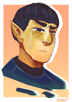 Vulcans Also Cry by Hyannah