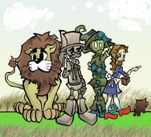 +The Wizard of OZ+ by kraola