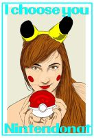 I choose You... Nintendo Nat! Colored by Rene-L