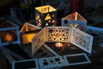 Magic Triangles Handicraft Work 5 by 8DFineArt