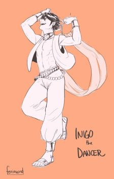 FE - Inigo da Dancer by FerioWind