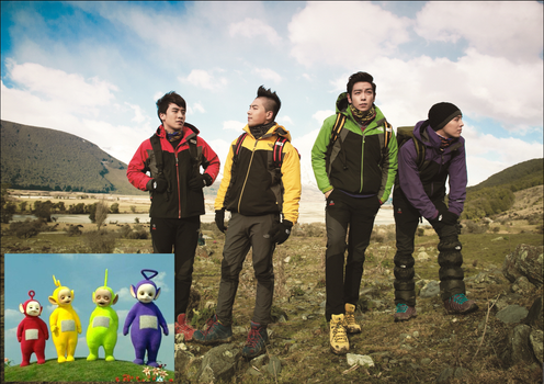 Big Bang are Teletubbies ? by strdusts
