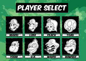 Select your FIGHTER by NNWW