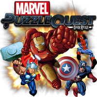 Marvel Puzzle Quest Dark Reign v2 by POOTERMAN
