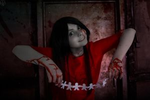 Corpse party(Tortured souls)-Shinozaki Sachiko by DarkInquisitor666