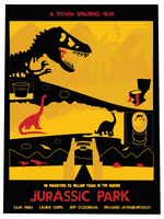 Jurassic Park Alternative Movie Art by davewi11