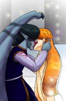 The Kiss by shivaesyke