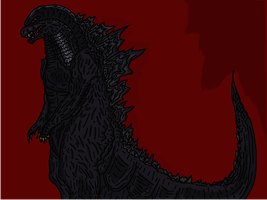 Legendary Godzilla by JamesMuthfuknBristol
