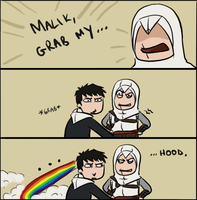 Malik, grab my hood by allahdammit