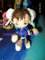 chun li street fighter by paolaakane85