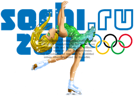 Cornelia at the 2014 Sochi Olympics by Galistar07water