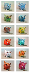 Monster Money Banks! by EatToast