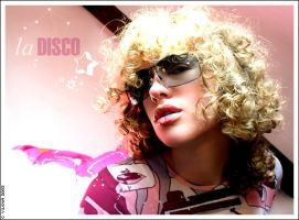 Disco girl 1 by lunargirl