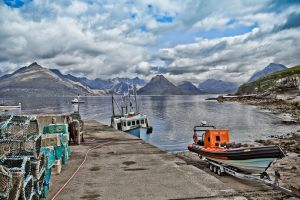 Harbour Life by derekbeattieimages
