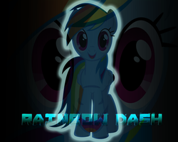 Wallpaper #9 (Rainbow Dash) by Lightslash