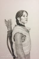 Katniss Everdeen (The Hunger Games) by strannaya-anna