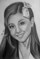 Ariana Grande by Bee-Minor