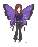 ID butterfly by VickyViolet