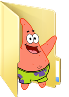 Request - Patrick folder icon by ToonAlexSora007
