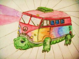 turtle VW bus by JessicaMercier
