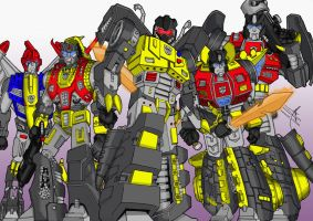 Dinobots Colour by GerHankey