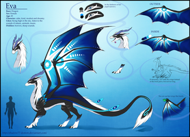 Eva. My own character-dragon by Shadow77-Demon