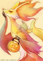 Delphox Sketch by eldrige