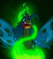 Queen Chrysalis by TheDracoJayProduct