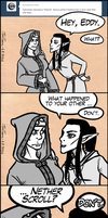 Ask the Bhaalspawn #9 by TariToons