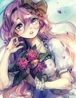 ::Commission:: May Flowers // xAmeHanax by Jotaku