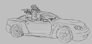 SKETCH WIP: The Boys are Back in Town by PunkAss-Myth