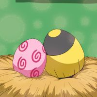 Igglybuff and Mawile Eggs by Galactic-Rainbow