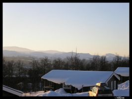 Snowy Mountains by MKlver