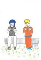 Naruto and Hinata body swap by KayTheYatagarasu