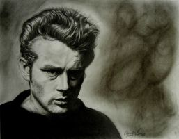 James Dean by riverstyx27