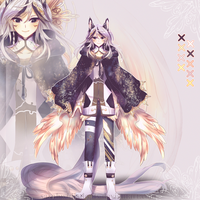 [CLOSED] Auction Adopt Reaper Male Kemonomimi by sarahwidiadopts