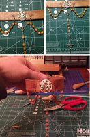 Commission: Rosary collar by Schnikeman