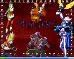 Psychic Force wallpaper by Anime-Master