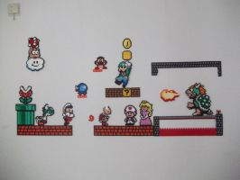 Super Mario Wall by capricornc5