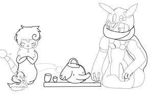 Tea time (July Task) by MixedMelodies