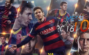 Wallpaper Messi New 2016 by Badr-DS